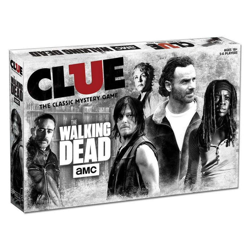 Walking Dead bordspel serie Cluedo