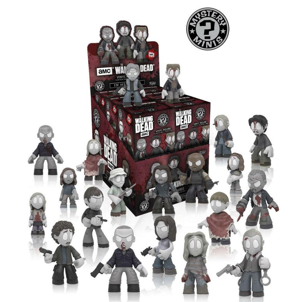 Walking Dead series mini mystery figures Funko