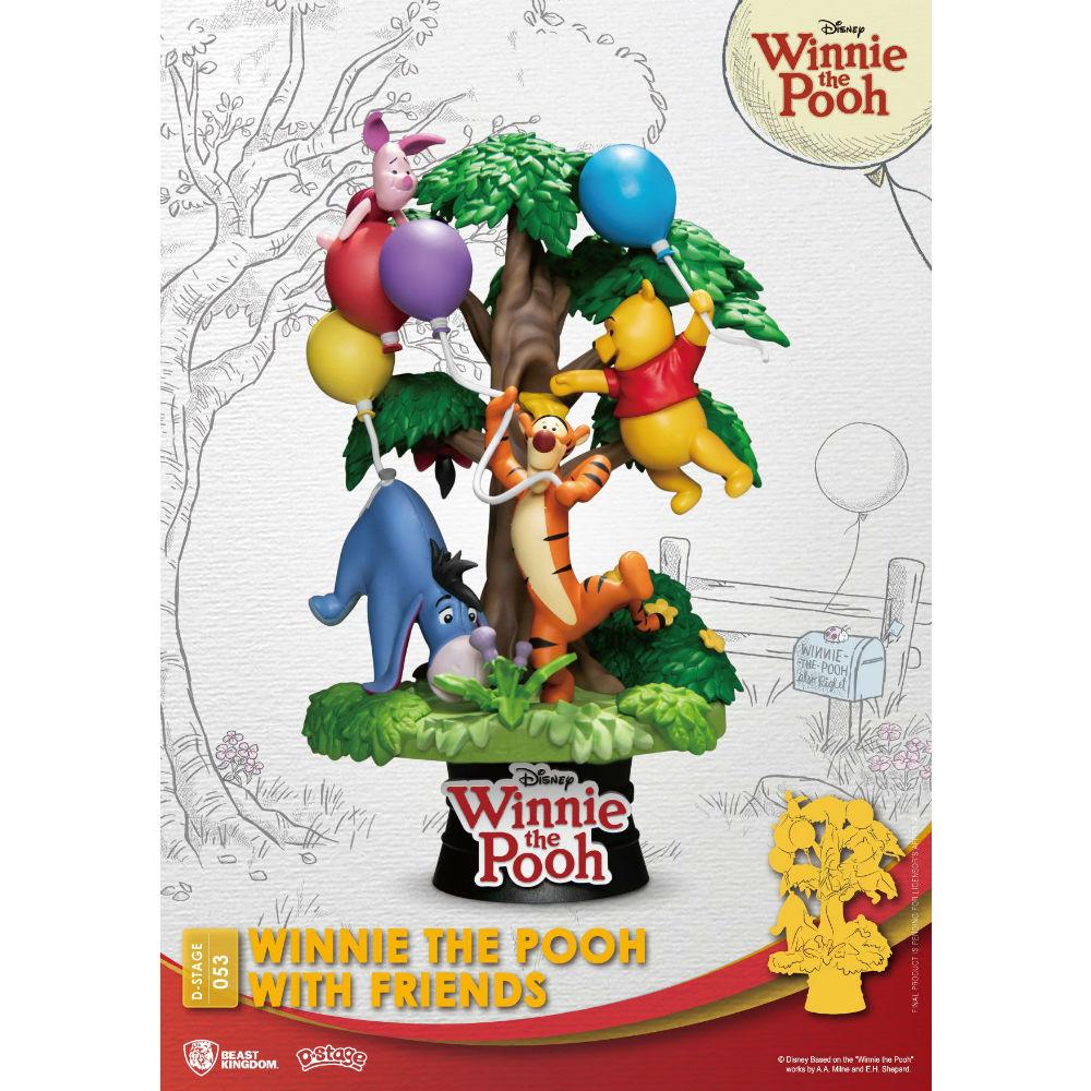 Winnie the Pooh Dstage Disney statue beast Kingdom