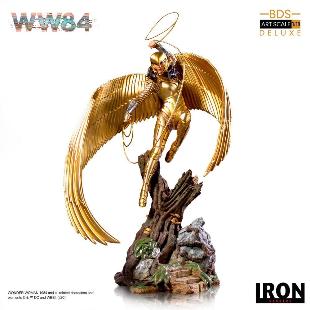 Wonder Woman 1984 statue DC Comics Iron Studios