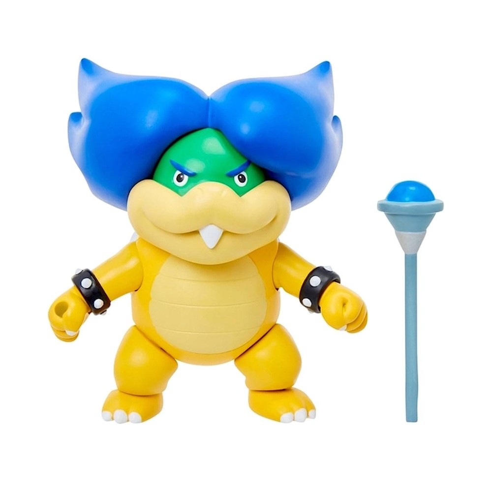 World of Nintendo Ludwig Magic Wand action figure