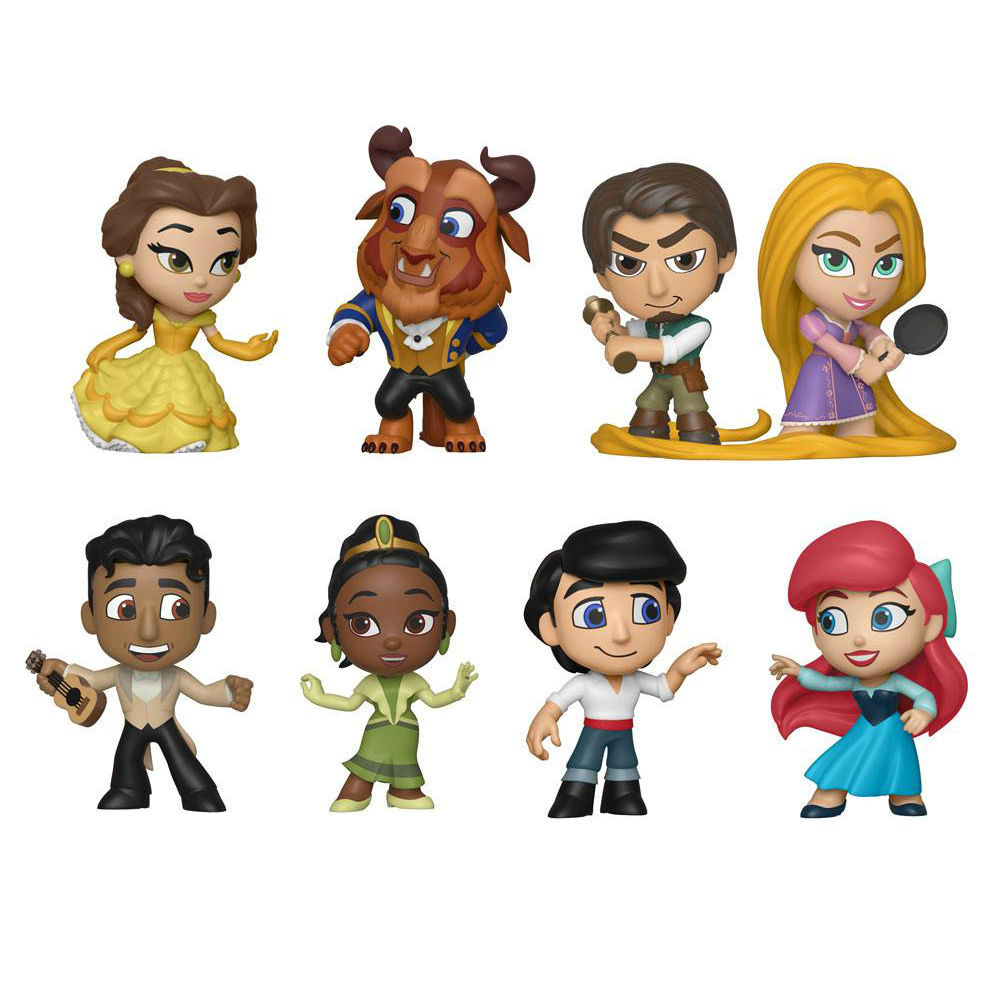 TIana Naveen THe Princess and the Frog Mini Figures Vinyl