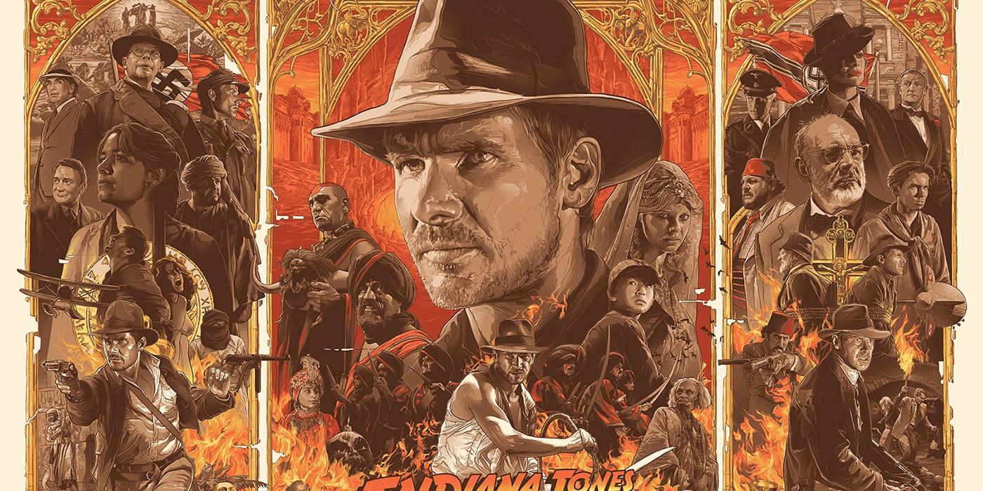Indiana Jones blog top movies The Last Crusade Ark Raiders Temple Doom Crystal Skull