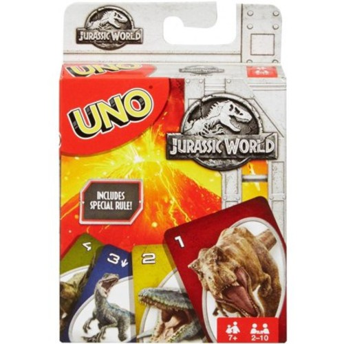 Jurassic World Uno Bordspel movies