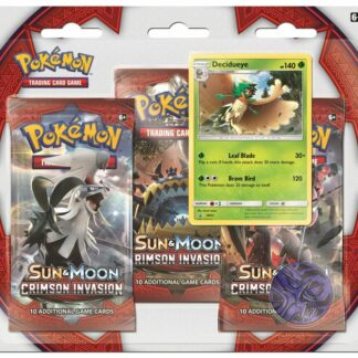 Pokemon blister pack Crimson Invasion Pokemon trading card company