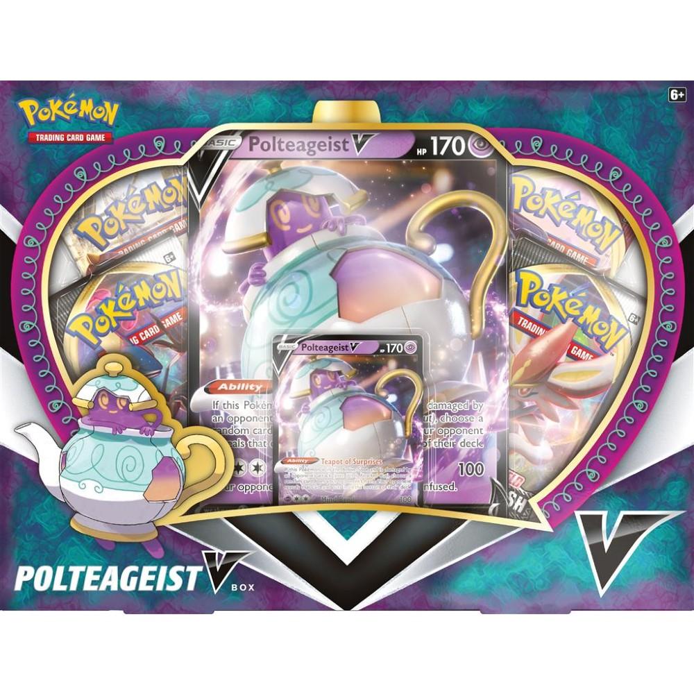 Pokémon Trading Card Game Poltegeist Vmax Box