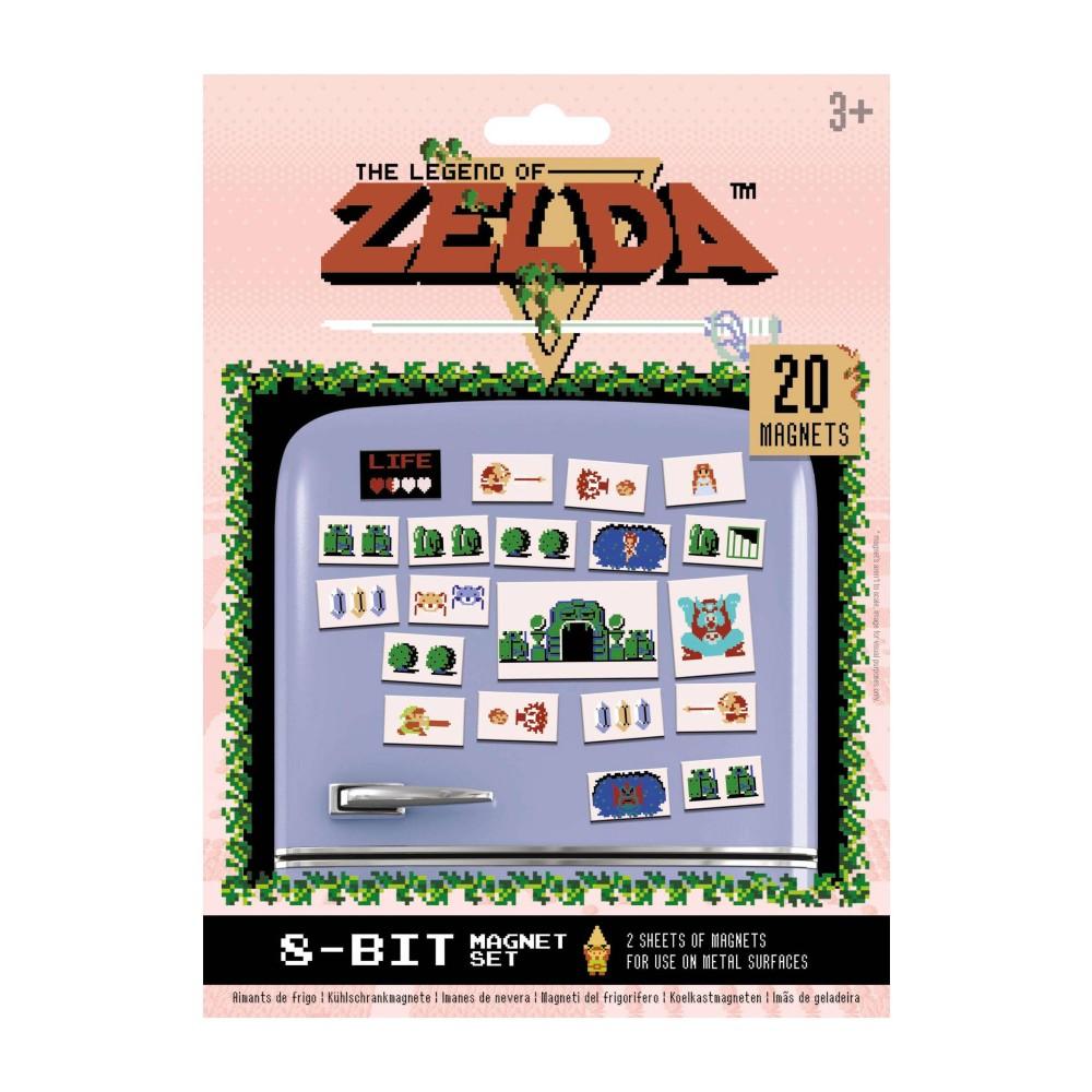 The Legend of Zelda retro magneten frigo Nintendo