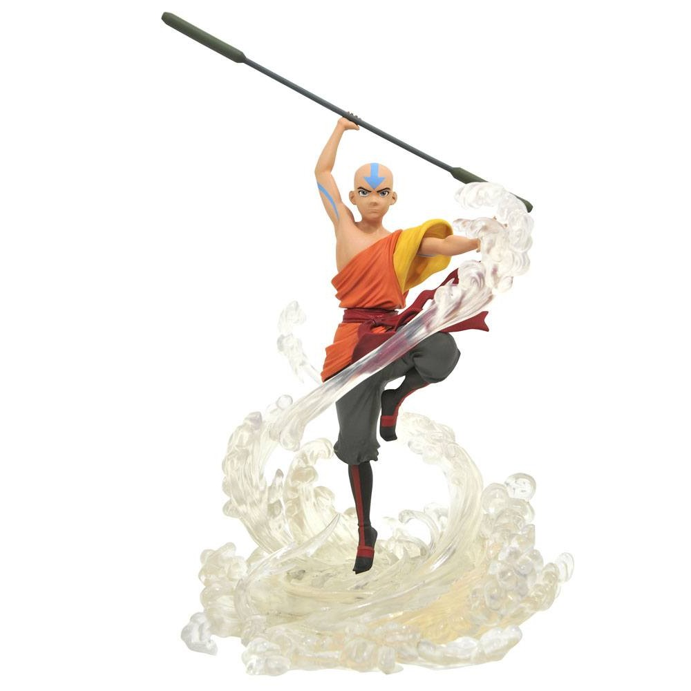 Avatar Aang Nickelodeon PVC Gallery Statue Diamond Select Toys