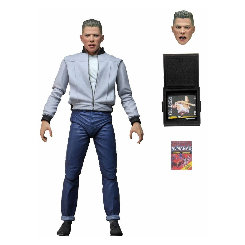 Biff Tannen Action figure Back to the future NECA movies