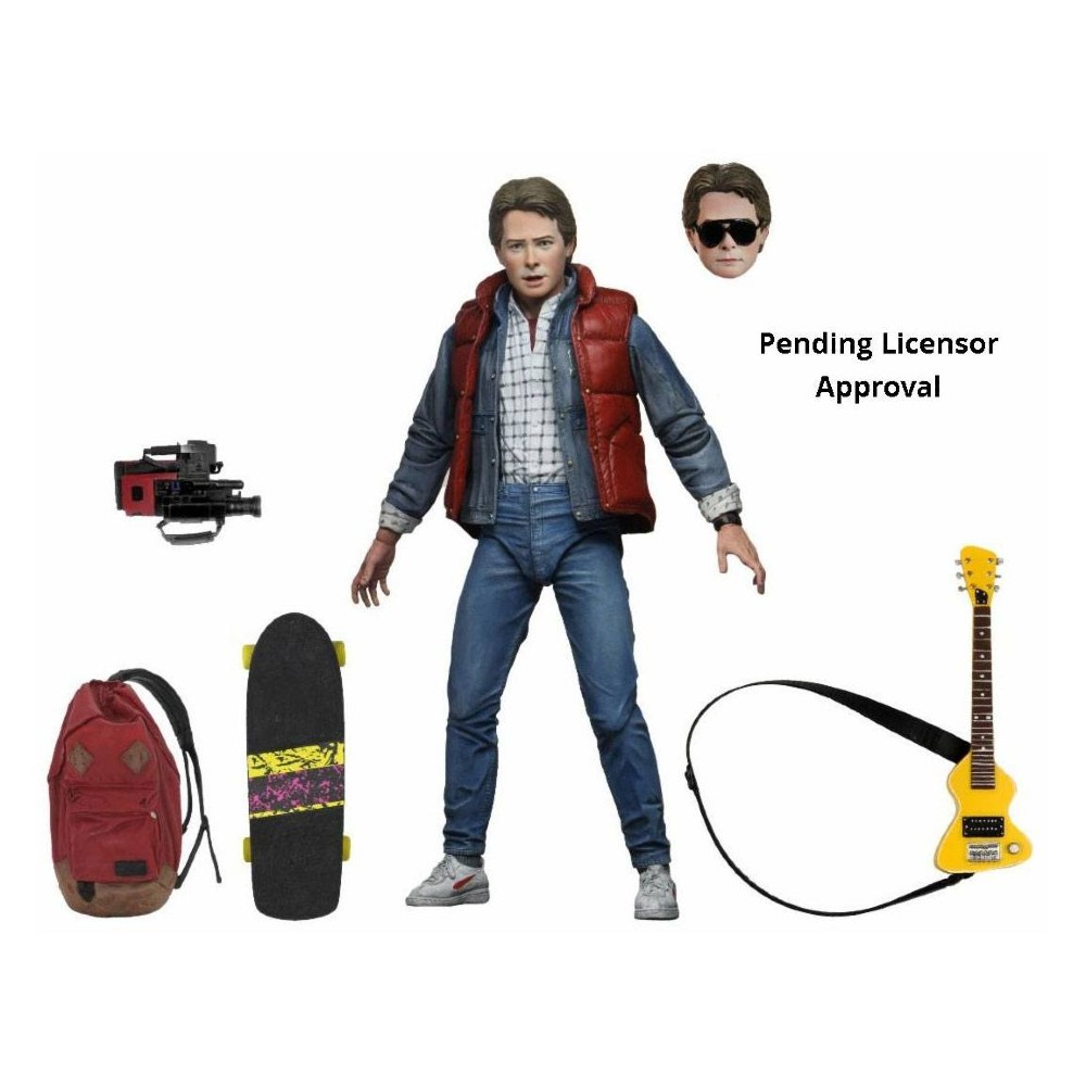 Back to the future Action figure Marty McFly Neca