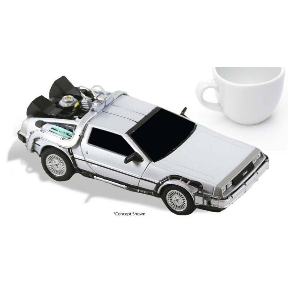 Back to the Future Diecast Model DeLorean NECA