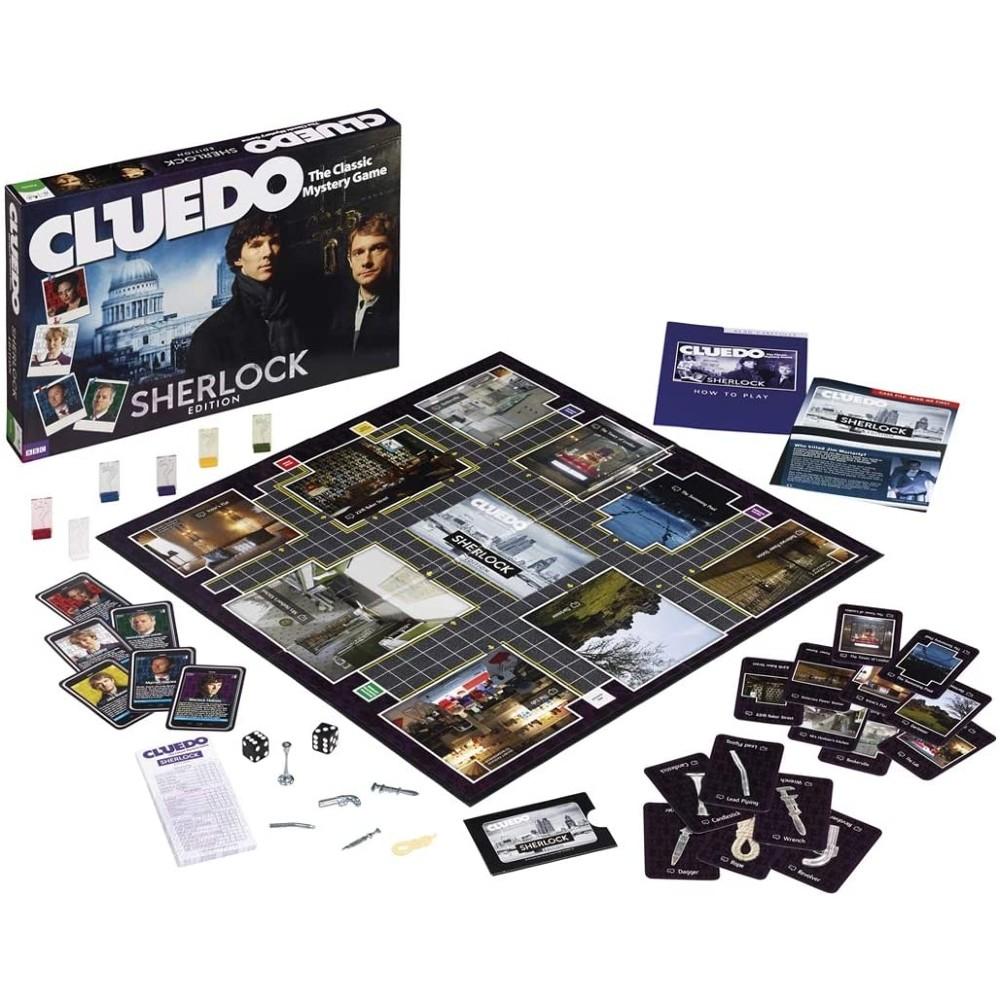 Cluedo Sherlock Bordspel serie