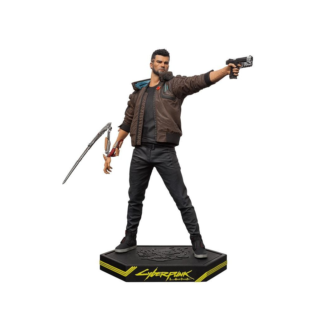 Cyberpunk 2077 PVC Statue games Male V