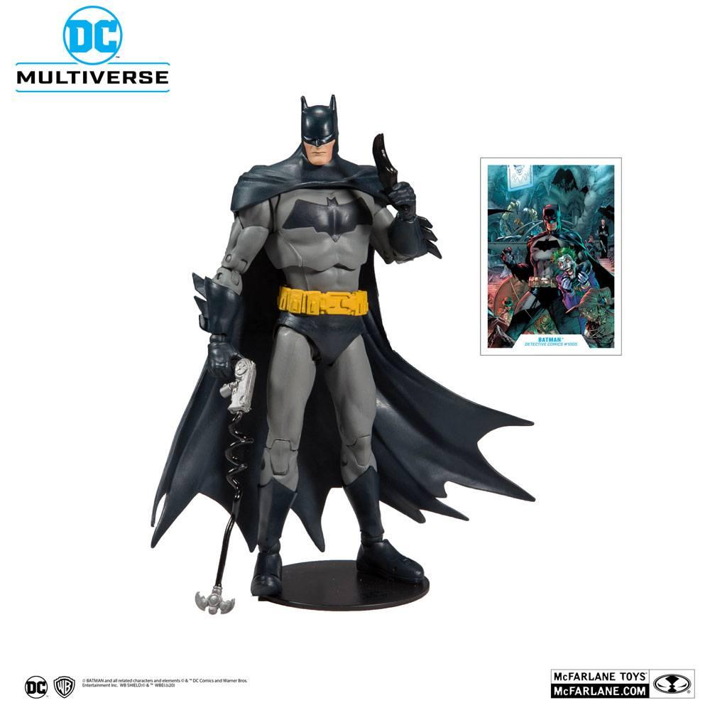 DC Rebirth Comics Detective Batman Figure Action