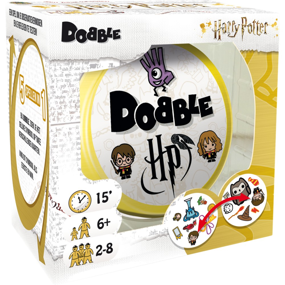 Harry Potter Dobble Nederlands bordspel movies
