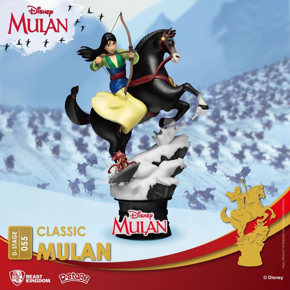 Disney Mulan D-stage PVC Diorama movies