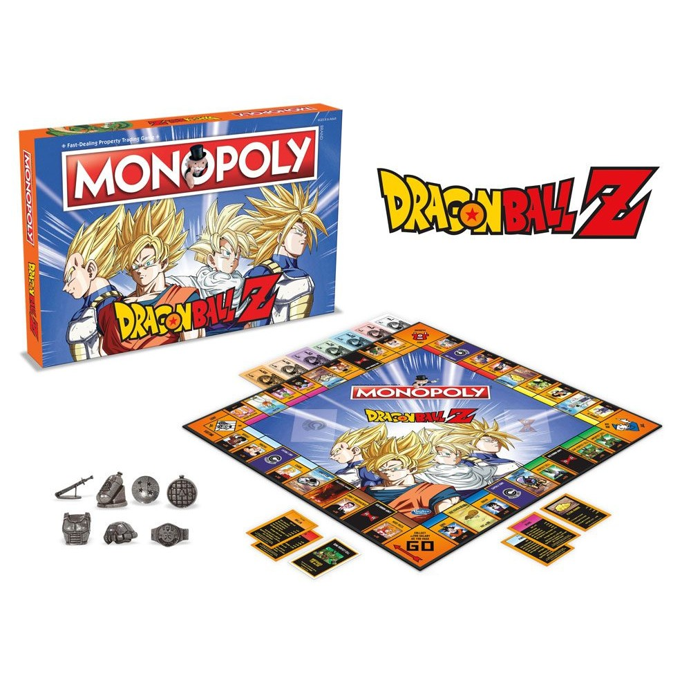 Dragonball Z series Monopoly bordspel
