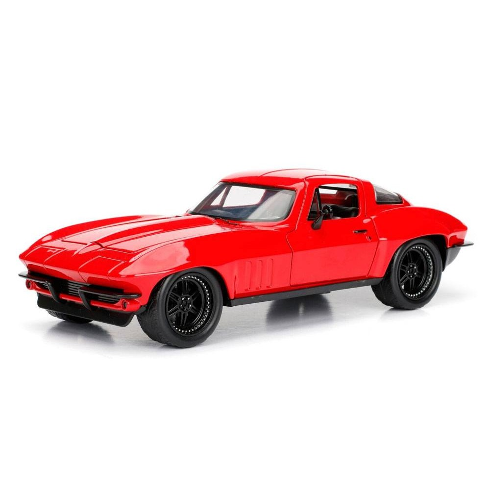 Fast Furious Diecast Model Letty's 1966 Chevy Corvette
