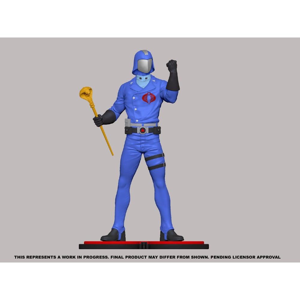 G.I. Joe Cobra Commander PVC Statue