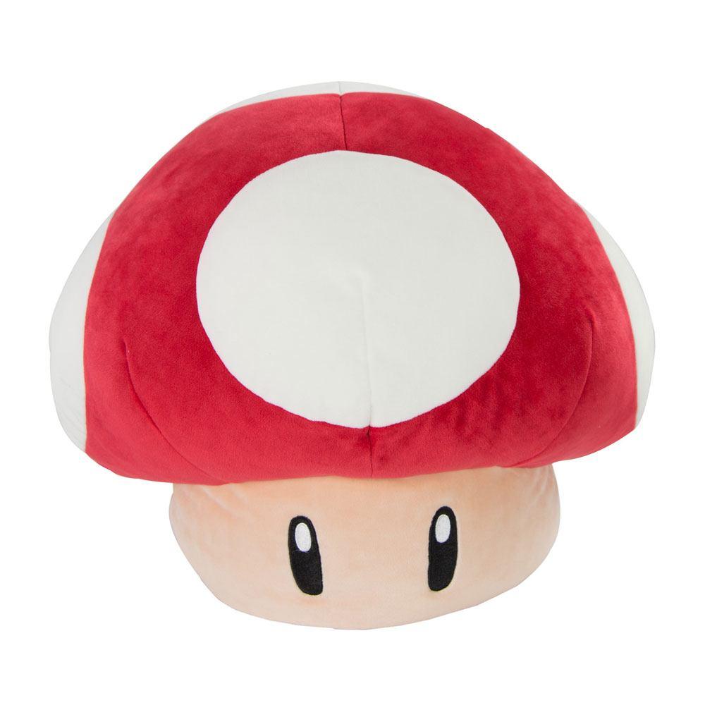 Mario Kart Mocchi-Mocchi knuffel Super Mushroom