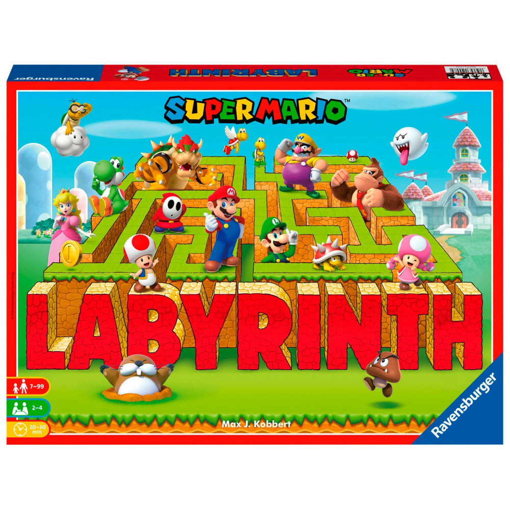 Mario Labyrinth Bordspel Game Nintendo