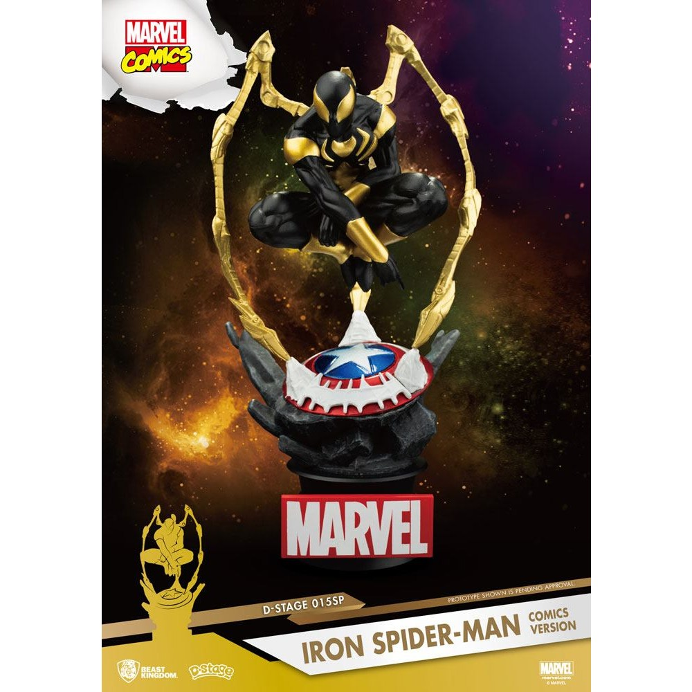 Marvel D-stage PVC Diorama Iron Spider-Man Comic version