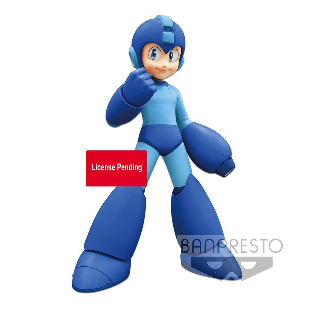 Mega Man Grandista PVC Statue Banpresto Exclusive line