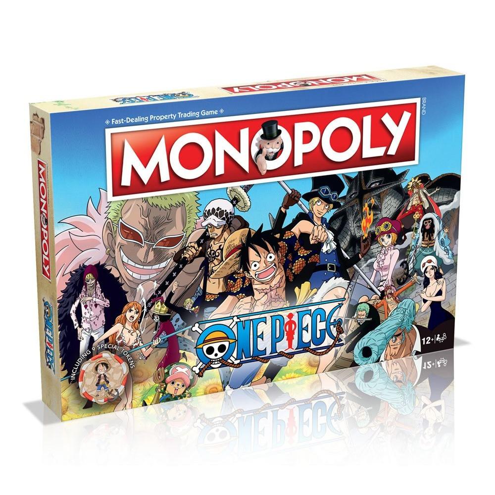One Piece Bordspel Monopoly Series Anime
