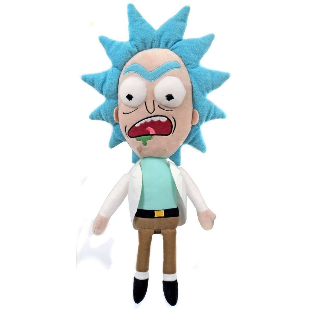 Rick and Morty knuffel Galactic Plushies Worried Funko series