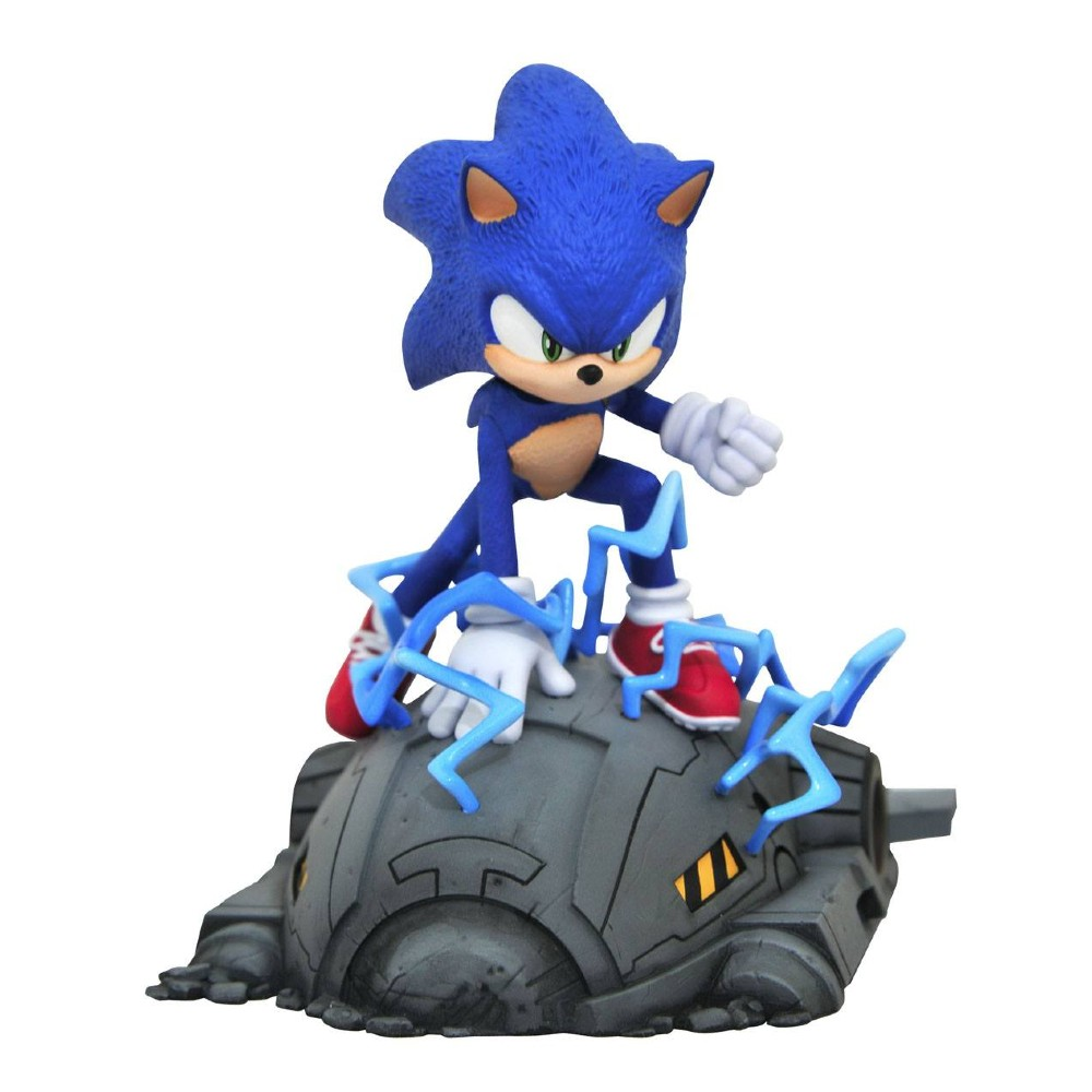 Sonic The Hedgehog Movie Statue Diamond Select Toys