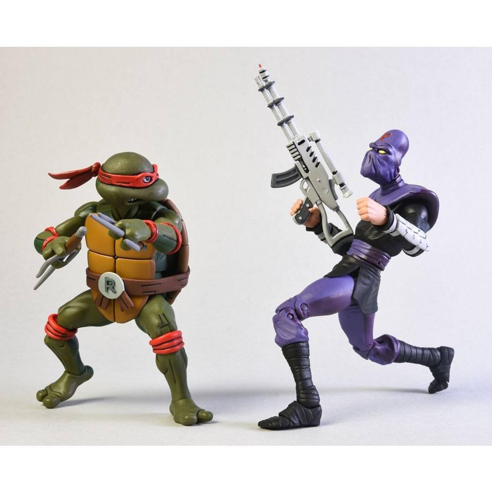 Teenage Mutant Ninja Turtles Action figures Raphael Foot Soldier