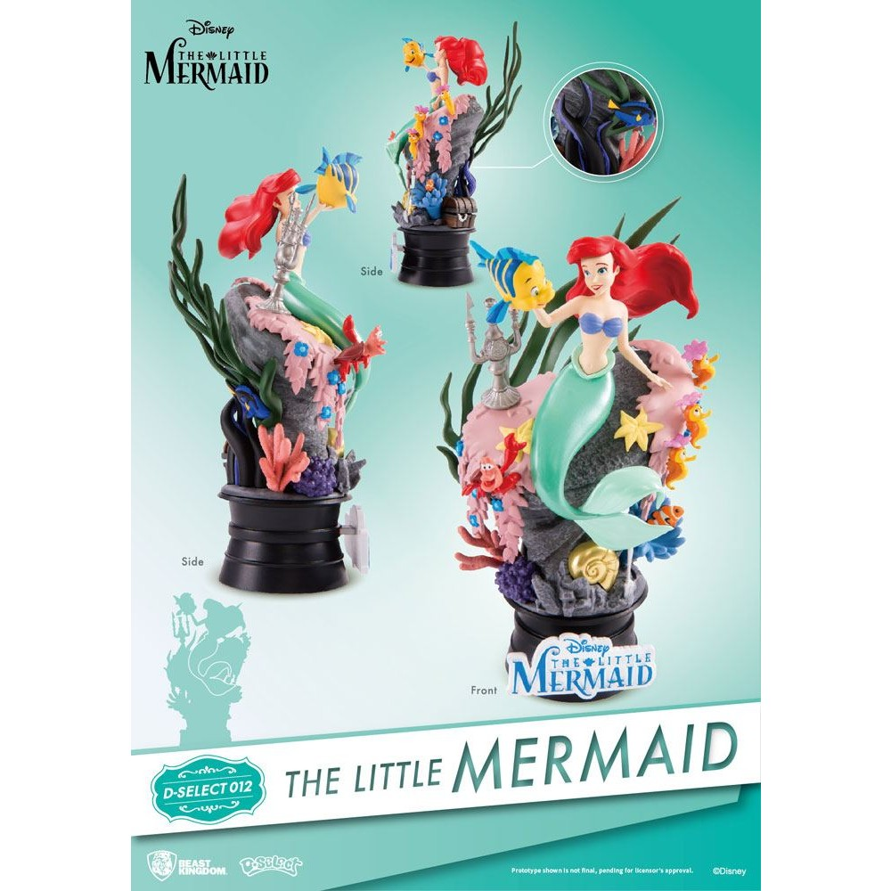 The Little Mermaid D-stage PVC Diorama Disney Statue