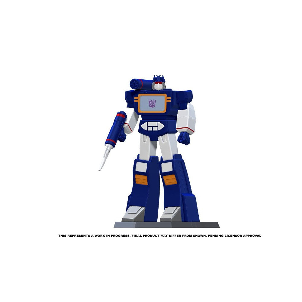 Transformers PVC Statue Soundwave movies