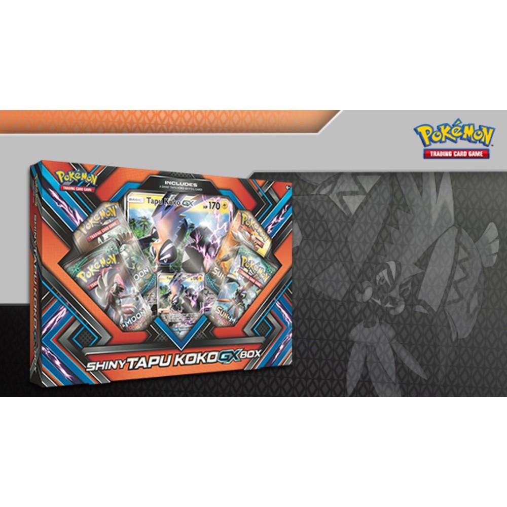 Pokémon trading card game Tapu Koko Shiny Games Nintendo