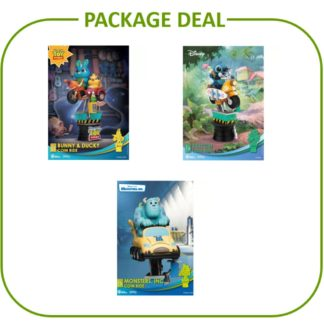 Beast Kingdom Package Deal Lilo Stitch Toy Story Monsters D-stage movies Disney