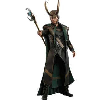 Avengers Endgame Movie Masterpiece PVC action figure Loki Hot Toys