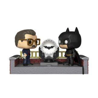 Batman movie moment vinyl figure light up bat signal DC Comics Funko