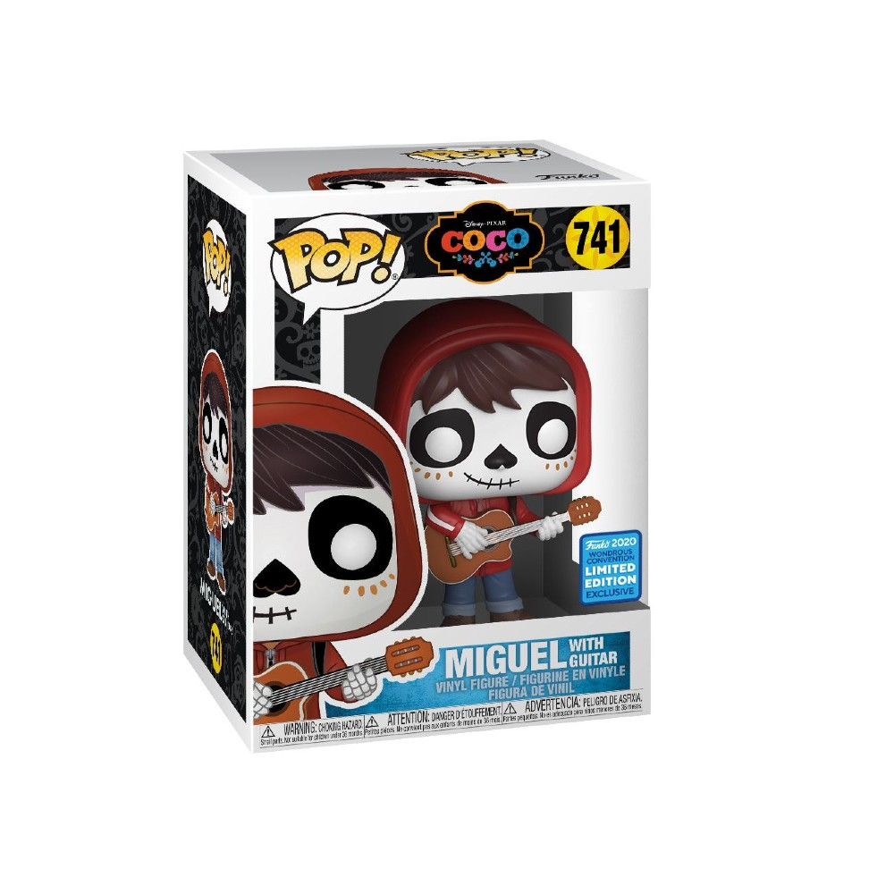 Coco Funko Pop Day of the dead makeup Convention Exclusive Disney movies