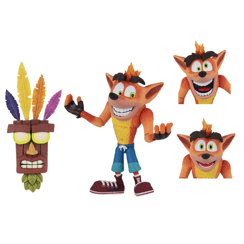 Crash Bandicoot Action figure Aku AKu Mask