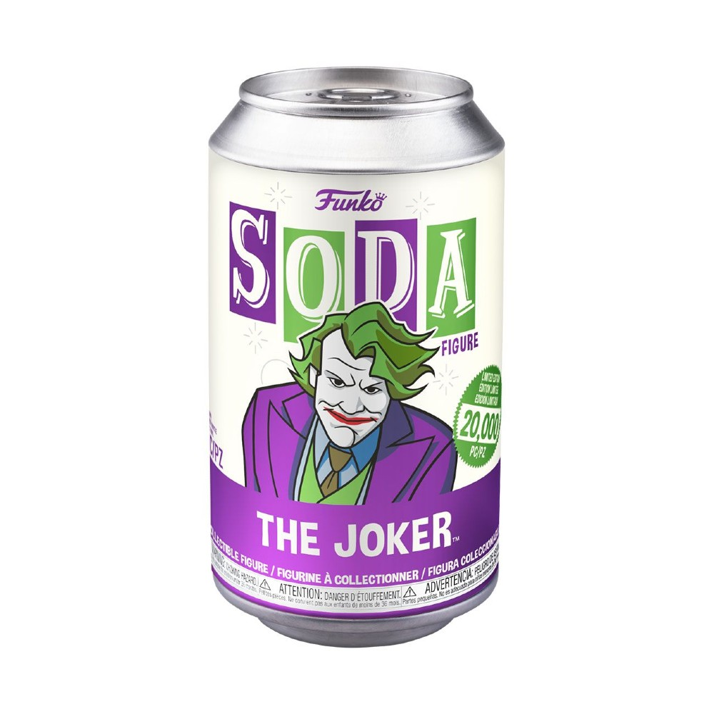 DC Comics Pop Movies Vinyl SODA figures Heath Ledger Funko