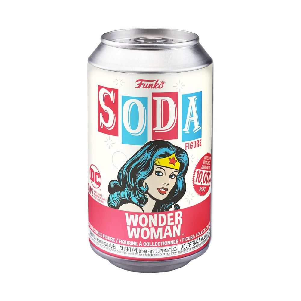 Wonder Woman DC Comics Vinyl SODA Limited edition
