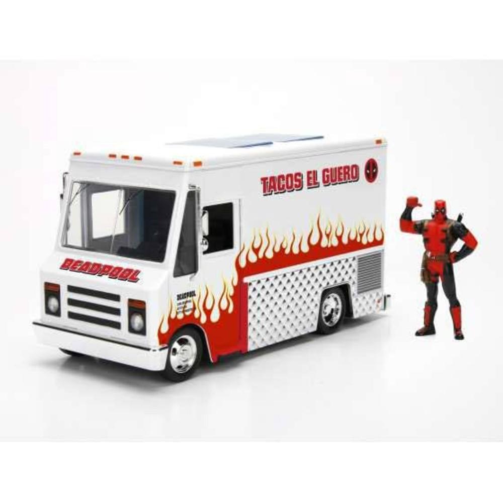 Deadpool Marvel Diecast Model Taco Truck