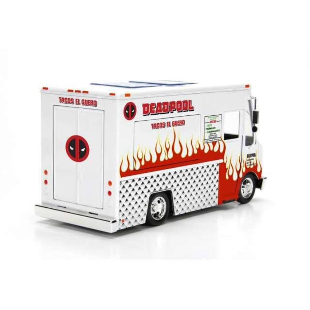 Deadpool Diecast Model 1/24 Taco Truck Marvel