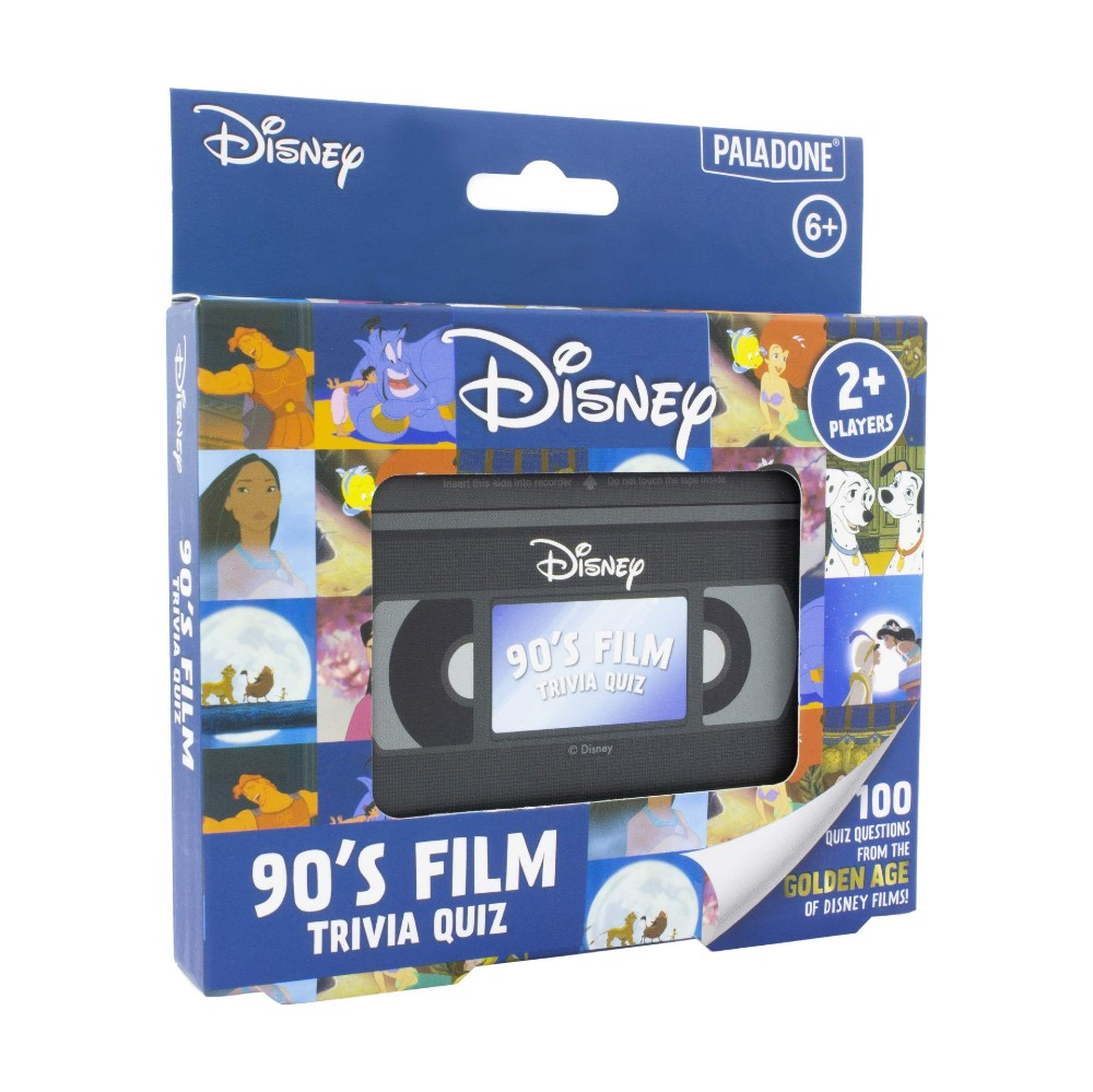 Disney 90's trivia quiz movies bordspel