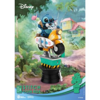 Lilo Stitch Coin Ride Disney D-stage PVC Diorama Beast Kingdom