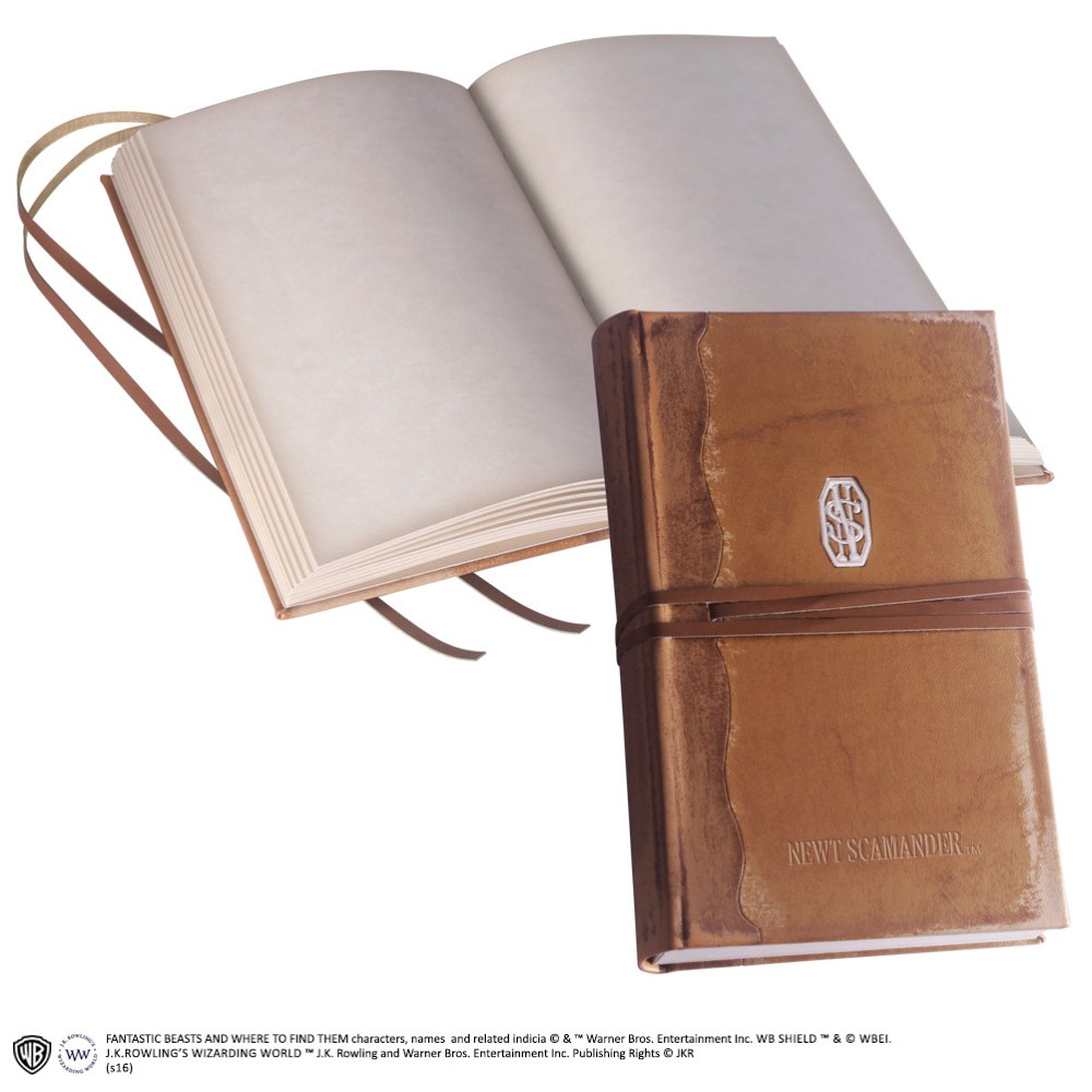 Fantastic Beasts Newt Scamander's Journal replica movies