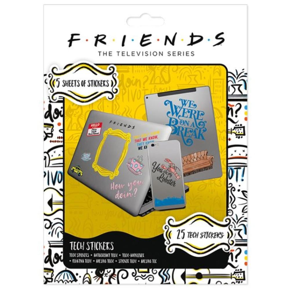 Friends Tech stickers Pyramid series