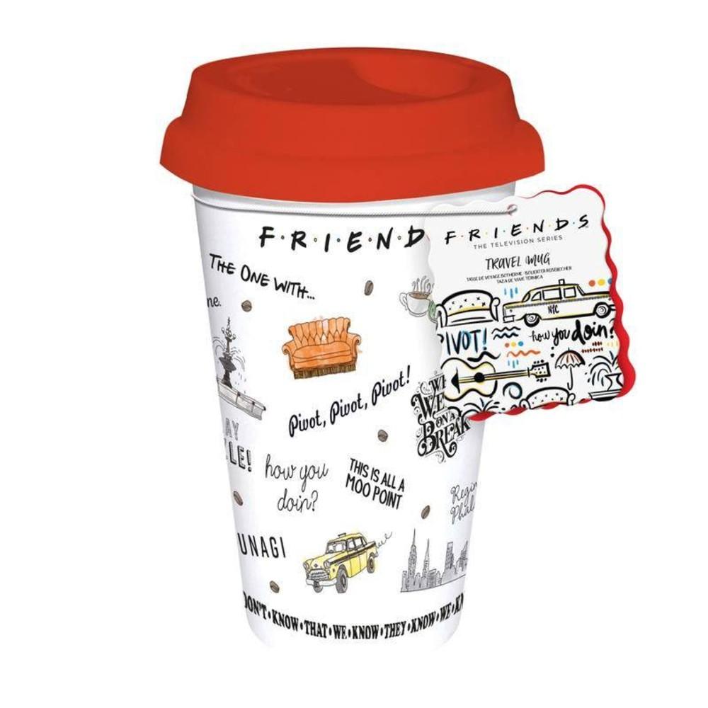 Friends Central Perk reisbeker series