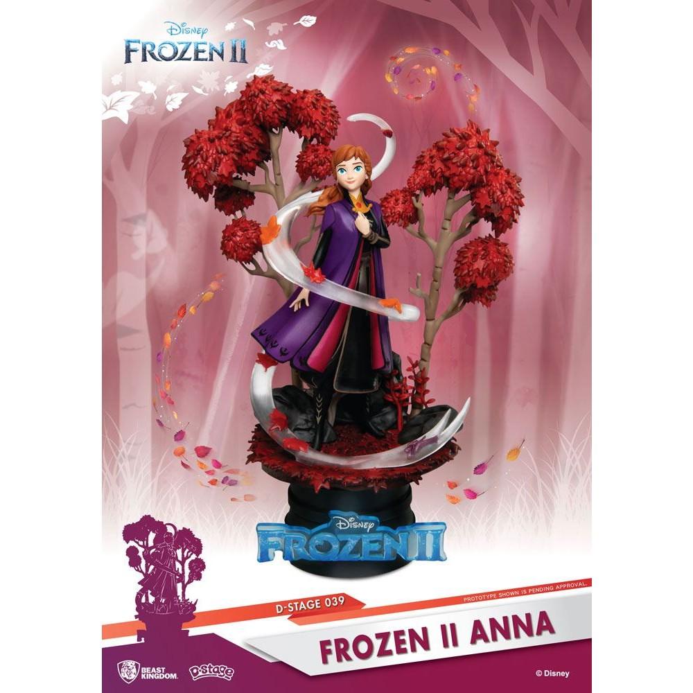 Frozen 2 D-stage PVC Diorama Anna Beast Kingdom