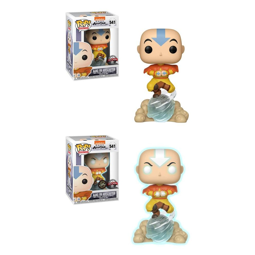 Avatar The Last Airbender - Funko Pop Figure Aang on Air Bubble 9 cm (kans op chase!)